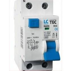 wyłącznik różnicowo- prądowy R60N 2P B16 LC
