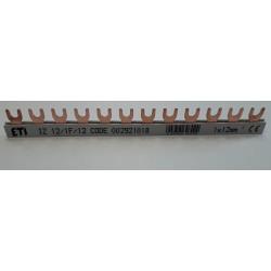 szyna łączeniowa EVG 1-fazowa 12-modułowa