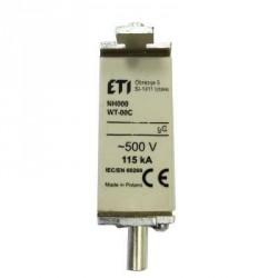 bezpiecznik mocy WT-00C/gG 25A