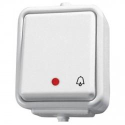 przycisk ''dzwonek'' hermetyczny natynkowy podświetlany CEDAR